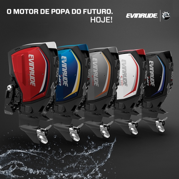 Evinrude ETec G2 - o motor de popa do futuro. Hoje.